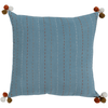 Dhaka Pillow ~ Denim - Cece & Me - Home and Gifts