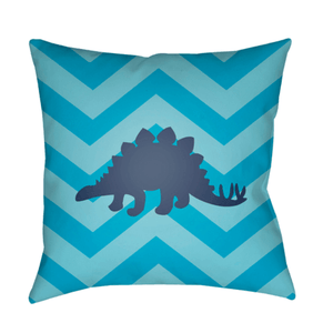 Dinosaur Pillow ~ Blue - Cece & Me - Home and Gifts