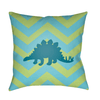Dinosaur Pillow ~ Lime - Cece & Me - Home and Gifts