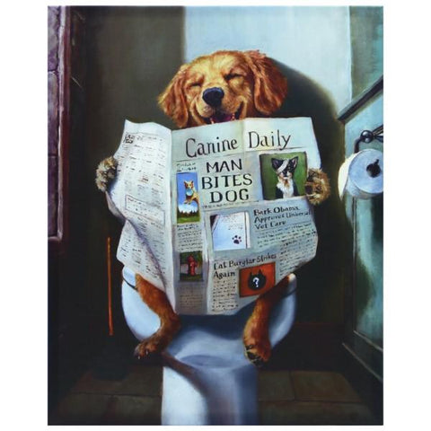 Image of Dog Gone Funny Giclee - Cece & Me - Home and Gifts