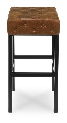 Douglas & David Bar Stool Dark Brown - Cece & Me - Home and Gifts