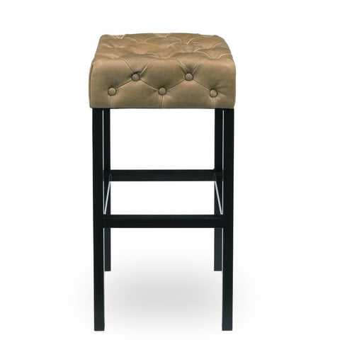 Douglas & David Bar Stool Light Brown - Cece & Me - Home and Gifts