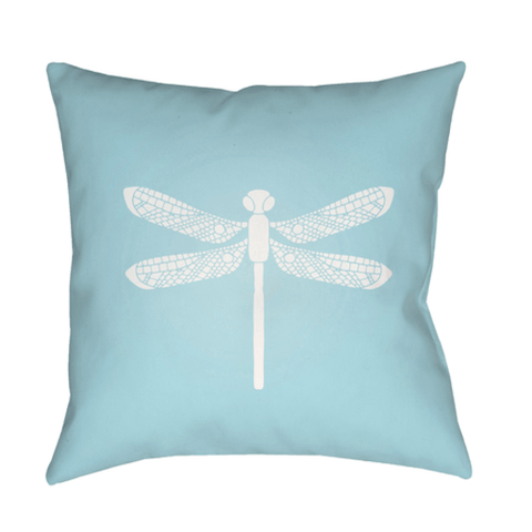 Dragonfly Pillow ~ Blue - Cece & Me - Home and Gifts
