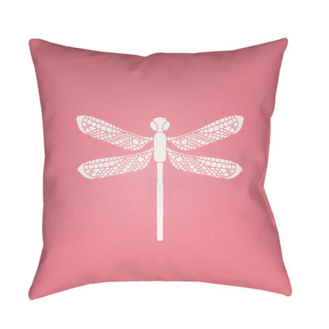 Dragonfly Pillow ~ Pink - Cece & Me - Home and Gifts