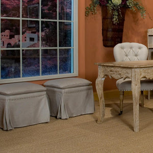 Draped Ottoman (Set of 2) - Cece & Me - Home and Gifts