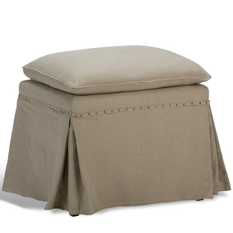 Image of Draped Ottoman (Set of 2) - Cece & Me - Home and Gifts