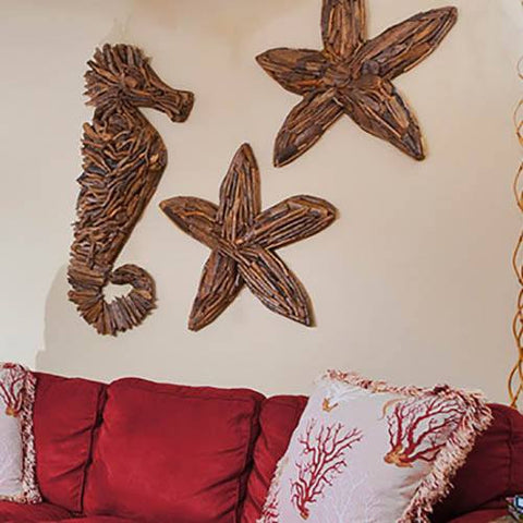 Image of Drift Wood Sea Horse - Cece & Me - Home and Gifts