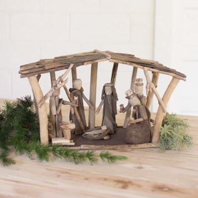 Driftwood Nativity - Cece & Me - Home and Gifts