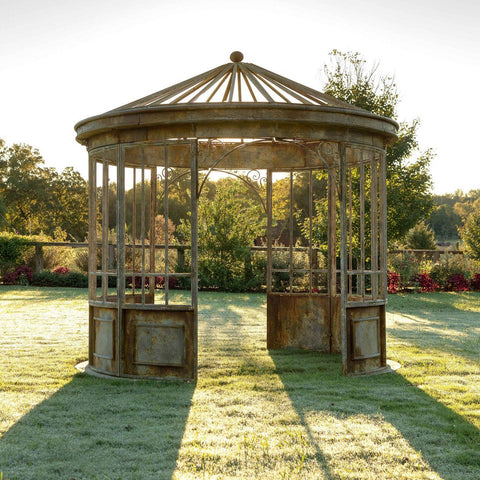 Aged Metal Gazebo - Cece & Me - Home and Gifts