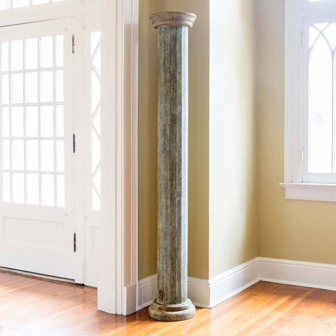 Green Veranda Pillar - Cece & Me - Home and Gifts