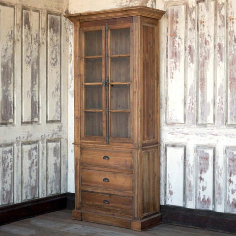 Image of Reclaimed Pine Archive Cabinet - Cece & Me - Home and Gifts