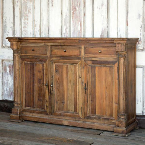 Reclaimed Pine Column Console - Cece & Me - Home and Gifts