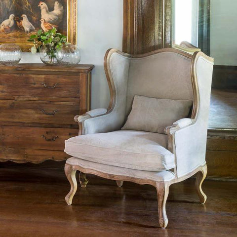 Farmers Wingback Chair - Cece & Me - Home and Gifts