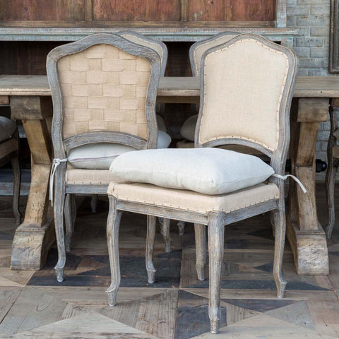 Weathered Oak Dining Chair - Cece & Me - Home and Gifts