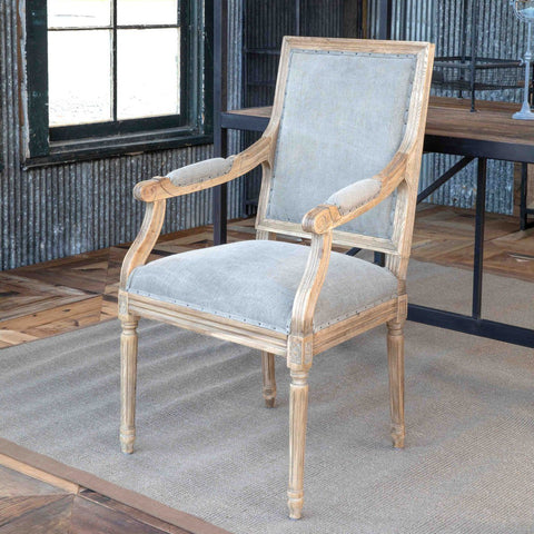 Oak Valley Arm Chair Set of Two - Cece & Me - Home and Gifts