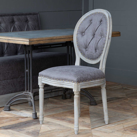 Mule Muzzle Tufted Back Dining Chair - Cece & Me - Home and Gifts
