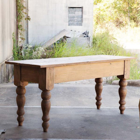 Primitive Pine Table - Cece & Me - Home and Gifts