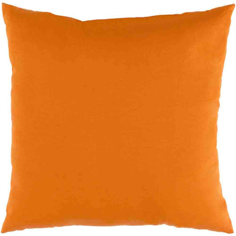 Image of Essien Outdoor Pillow ~ Bright Orange - Cece & Me - Home and Gifts