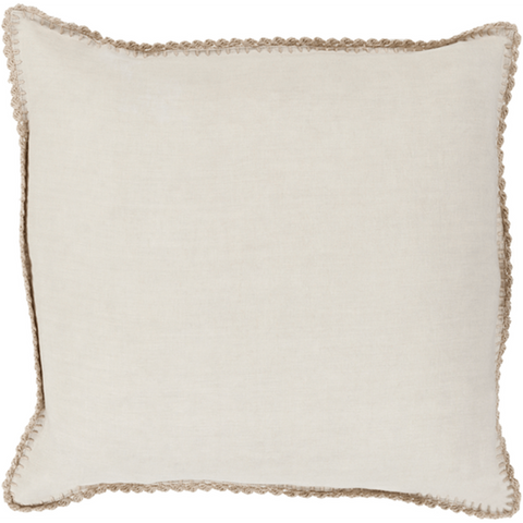 Elsa Pillow ~ Khaki - Cece & Me - Home and Gifts