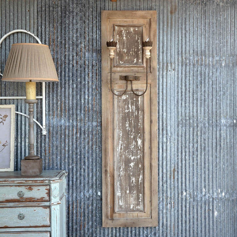 Image of French Panel Wall Sconce