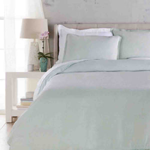 Evelyn Linen Duvet ~ Ice Blue - Cece & Me - Home and Gifts