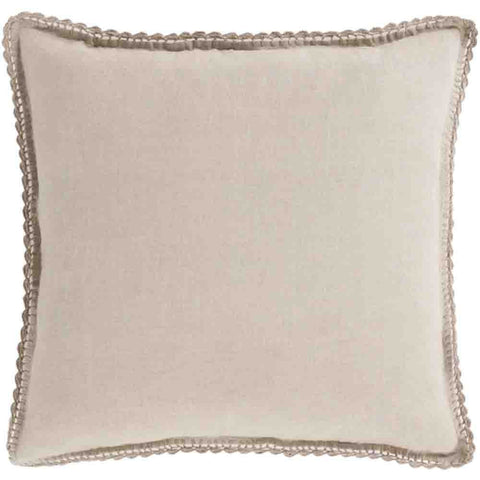 Image of Evelyn Linen Duvet ~ Light Gray - Cece & Me - Home and Gifts