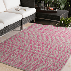 Eagean Rug ~ Bright Pink