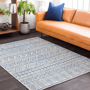 Eagean Rug ~ Denim
