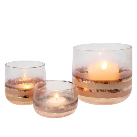 Image of Echo Votive Large (Set of 2) ~ Blush - Cece & Me - Home and Gifts