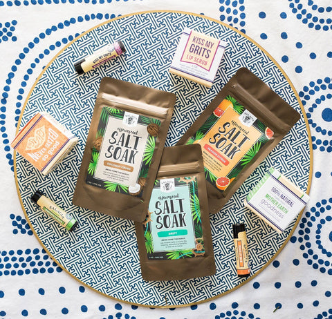 Seaside Citrus Effervescent Salt Soak - Cece & Me - Home and Gifts