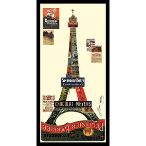 Eiffel Tower ~ Art Collage - Cece & Me - Home and Gifts
