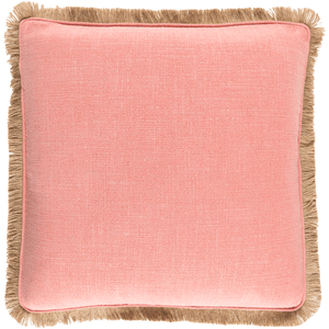 Ellery Pillow ~ Coral - Cece & Me - Home and Gifts