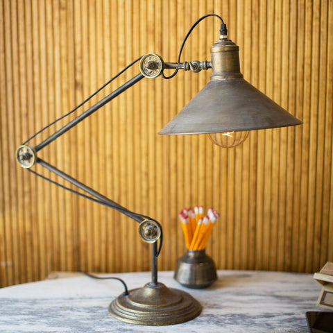 Emard Metal Table Lamp - Cece & Me - Home and Gifts