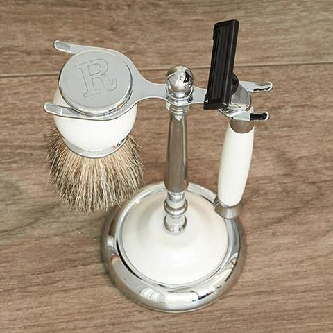Engraved Initial Shaving Kit - Cece & Me - Home and Gifts