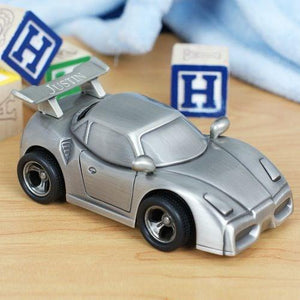 Engraved Sports Car Bank - Cece & Me - Home and Gifts