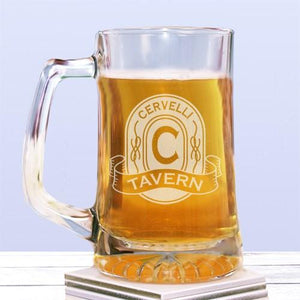 Engraved Tavern Glass Mug - Cece & Me - Home and Gifts