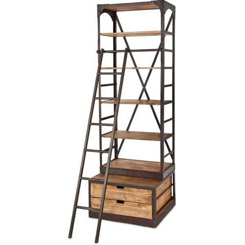 Envy Iron Bookcase II - Cece & Me - Home and Gifts