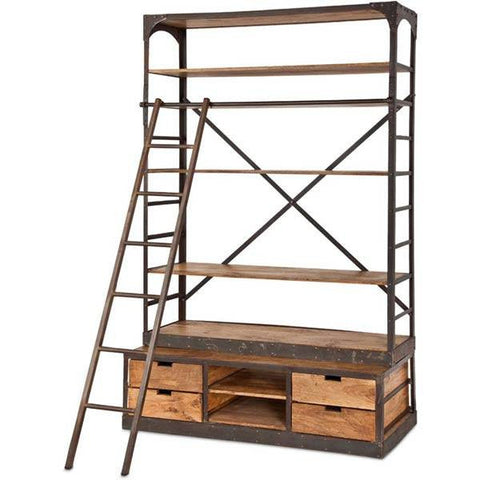 Envy Iron Bookcase - Cece & Me - Home and Gifts