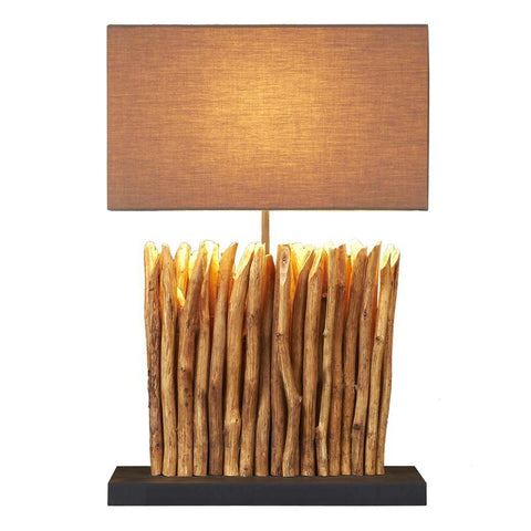 Eucalyptus Branch Table Lamp II - Cece & Me - Home and Gifts