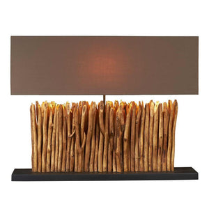 Eucalyptus Breach Console Lamp - Cece & Me - Home and Gifts