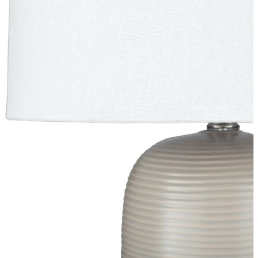 Everly Table Lamp ~ Taupe - Cece & Me - Home and Gifts