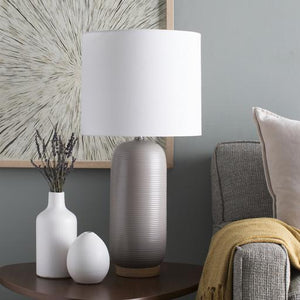Everly Table Lamp ~ Taupe