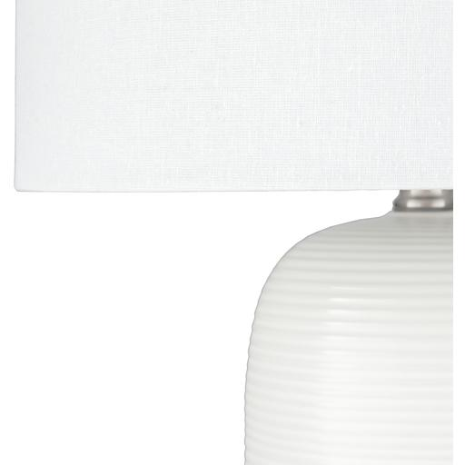 Everly Table Lamp ~ White - Cece & Me - Home and Gifts