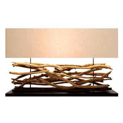 Extra large Teak sticks Lamp - Cece & Me - Home and Gifts