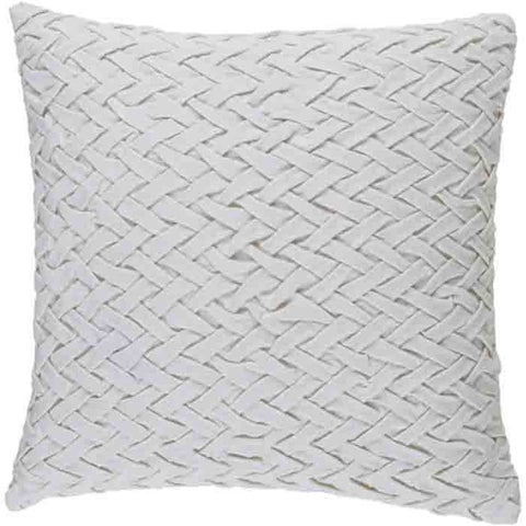 Image of Facade Pillow ~ White - Cece & Me - Home and Gifts