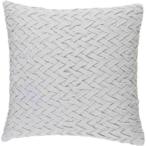 Facade Pillow ~ White - Cece & Me - Home and Gifts