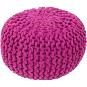 Fargo Pouf ~ Bright Purple - Cece & Me - Home and Gifts