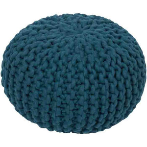 Fargo Pouf ~ Teal - Cece & Me - Home and Gifts
