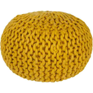 Fargo Pouf ~ Mustard - Cece & Me - Home and Gifts