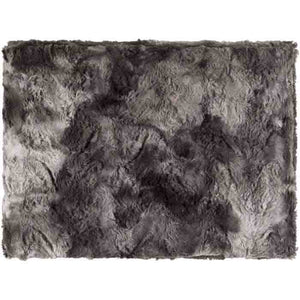 Felina Throw ~ Medium Gray/Black - Cece & Me - Home and Gifts